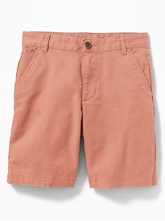 b2d784e2ea Straight Built-In Flex Twill Shorts for Boys