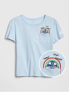 3152bf101ea GapKids   124 Star Wars  153 Short Sleeve T-Shirt