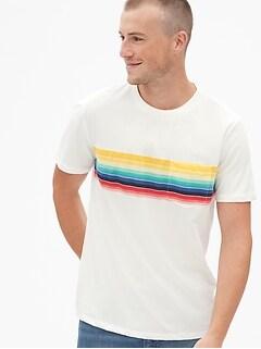 02671f88f Stripe Pocket T-Shirt