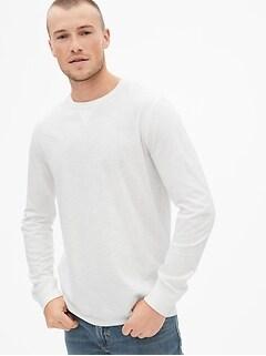 1ad91716d5 Vintage Slub Jersey Long Sleeve Crewneck T-Shirt