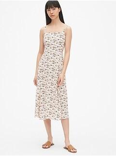 17f452614d0b Fit and Flare Cami Midi Dress