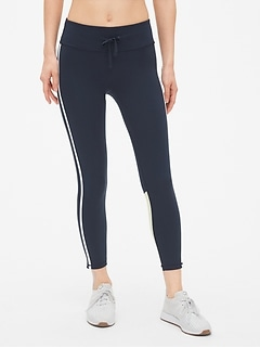 9f599565dbdb9 GapFit Blackout Drawstring Colorblock 7/8 Leggings. CA$64.95. Online  Exclusive