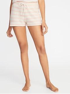 e3fd2c91320 Striped Cali-Fleece Shorts for Women