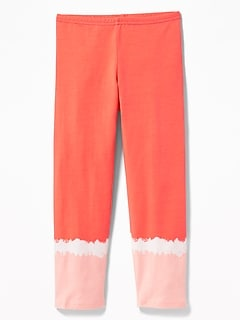 8c69b1779815b Cropped Jersey Leggings for Girls