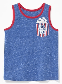 3a797195405aa Graphic Pocket Tank for Toddler Boys