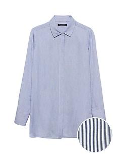 ff4e50c044189a Parker Tunic-Fit Soft Stripe Shirt
