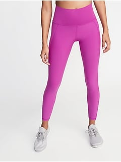 eda7cbfd49 High-Rise Elevate Built-In Sculpt 7/8-Length Compression Leggings for