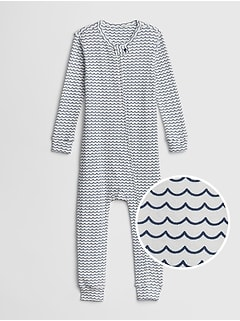 72451710a babyGap Organic Cotton Waves One-Piece