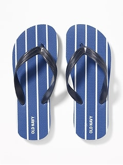 0f927621d85a Printed Flip-Flops for Boys
