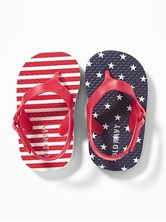 5aed7196b434 Stars   Stripes Flip-Flops for Baby