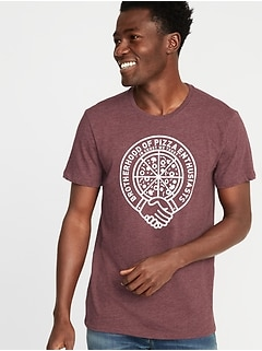 37a1dffa7234 Soft-Washed Graphic Tee for Men