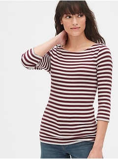 5782fc8a5c18 Modern Stripe Ballet-Back T-Shirt