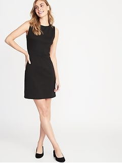 95210874376 Sleeveless Ponte-Knit Sheath Dress for Women