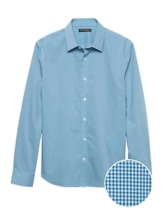 9878dfd083 Untucked Slim-Fit Non-Iron Dress Shirt