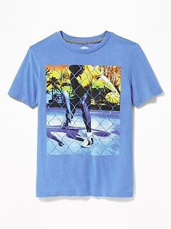 9f2df7ae7 Graphic Crew-Neck Tee for Boys