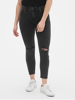 07e8df703b Mid Rise True Skinny Ankle Jeans