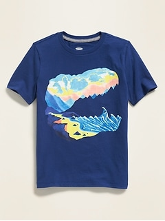 1fa2d5b4f22 Graphic Crew-Neck Tee for Boys