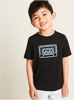 125244a0 Mini-Me Graphic Tee for Toddler Boys