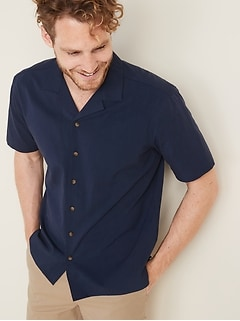 e437c93b3 Regular-Fit Soft-Washed Twill Getaway Shirt for Men