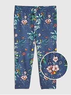 772d8e69c54e5 Toddler Graphic Capri Leggings in Stretch Jersey