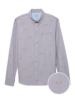69a2dff4 Men's Casual Button-Up Shirts   Banana Republic