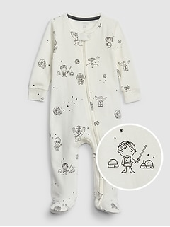 f38a06f14daff babyGap | Star Wars™ Footed ...