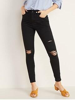 04eb67cfca60f High-Rise Secret-Slim Pockets Distressed Rockstar Jeans for Women