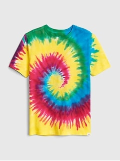 5fd880598 Kids Tie-Dye Short Sleeve T-Shirt