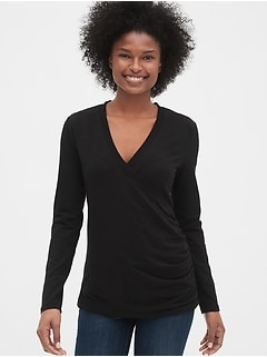 ab2278a02 Maternity Crossover Nursing Top