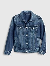 갭 GAP Kids Denim Icon Jacket,medium wash