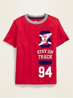 a96b46f5d9 Graphic Crew-Neck Tee for Boys