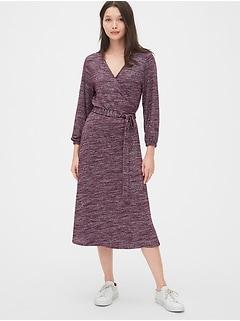 7192fcf369b Softspun Wrap Midi Dress