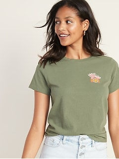 1df3a8d0dfae1 Women's Graphic Tees | Old Navy