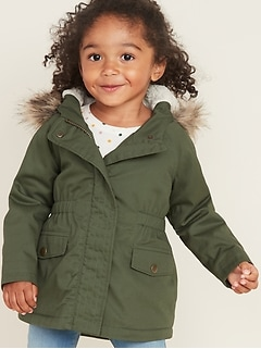 cdc0e986 Toddler Girl Jackets, Coats & Outerwear | Old Navy