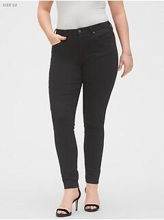 bananarepublic Curvy Fit FadeResist Black Skinny Jean