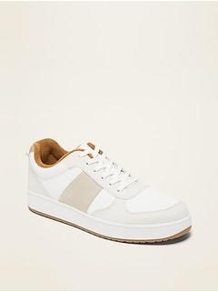 Oldnavy Retro Brushed-Twill Sneakers for Men