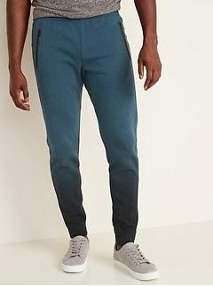 Men/'s Magic Striped Ball Pants Zip Pocket