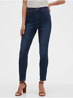 bananarepublic Curvy High-Rise Soft Touch Dark Wash Skinny Jean