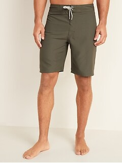 Oldnavy Solid-Color Board Shorts for Men -- 10-inch inseam