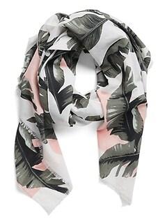 Palm Print Sarong
