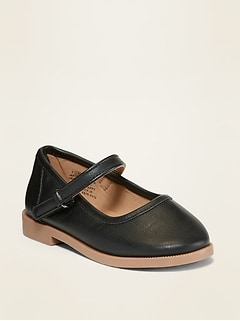 Oldnavy Faux-Leather Uniform Mary-Janes for Toddler Girls