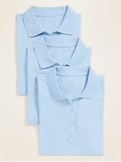 Oldnavy 3-Pack Uniform Pique Polo for Women