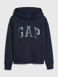 갭 키즈 후드티 Kids Gap Logo Hoodie Sweatshirt,heather grey
