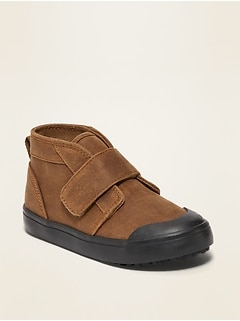 Oldnavy Faux-Suede Mid-Top Chukka Sneakers for Toddler Boys