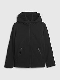 갭 GAP Kids Tech Jacket,green camo