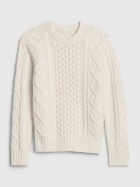 갭 키즈 남아용 꽈베기 니트 스웨터 GAP Kids Cable-Knit Sweater,chino