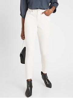 bananarepublic High-Rise Uncut Cord Skinny Jean