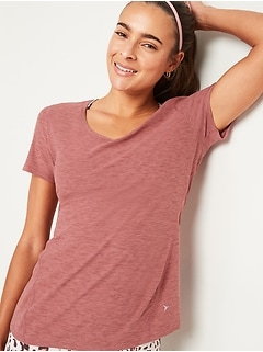 Oldnavy Breathe ON Keyhole-Back Performance Tee for Women