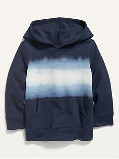Oldnavy Dip-Dye Stripe Pullover Hoodie for Toddler Boys