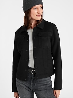 Banana Republic Double-Faced Trucker Jacket